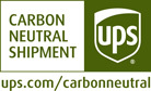 UPS Carbon Neutral Shipment